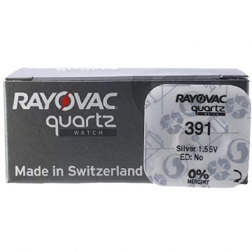 Rayovac 391 SR1120W 1.5V Silver Oxide Watch Battery